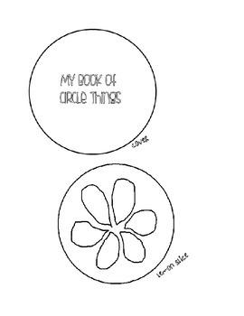 Circle Book Printable