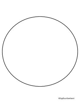 Circle Book Template
