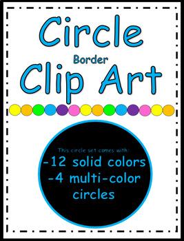 Circle Border / Banner Clip Art