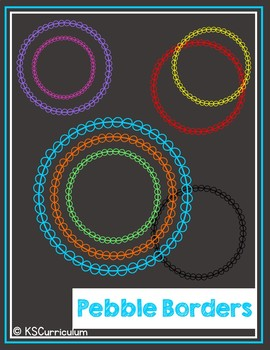 Circle Border Clip Art Freebie
