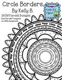 Circle Borders By Kelly B.