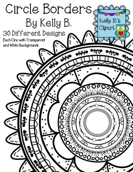 Circle Borders By Kelly B.