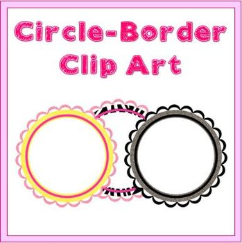 Circle Borders - Clipart