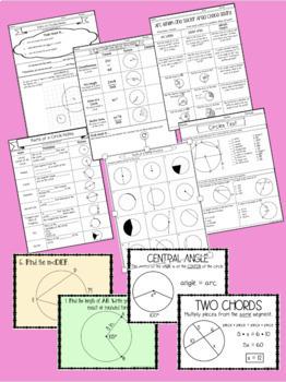 Circles Unit Bundle-with Editable Test!!