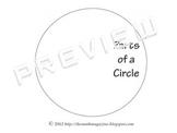 Circle Circumference Diameter Radius Foldable Interactive
