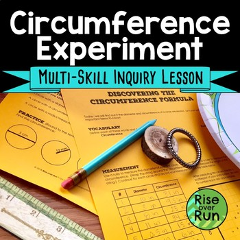 Circle Circumference Formula Discovery Lesson, Measuring Diameters