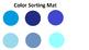 Circle Color File Folder Matching Game