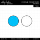 FREE Circle Counters Clipart {A Hughes Design}