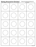 Circle Creativity Exercise