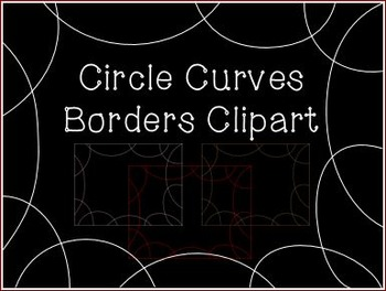 Circle-Curves - Bubble Page Borders