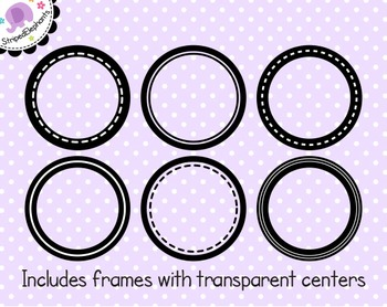 Circle Digital Frame Collection 1