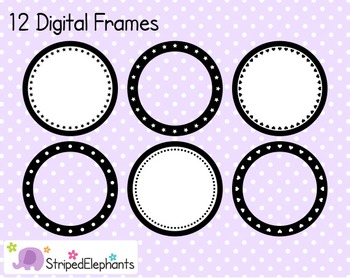 Circle Digital Frame Collection 2