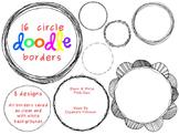 Circle Doodle Borders