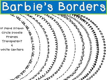 Circle Doodle Borders/Frames