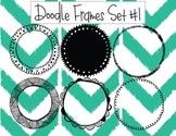 Circle Doodle Frames #1