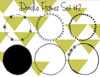 Circle Doodle Frames #2