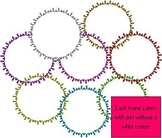 Circle Doodle Frames for Venn Diagrams and more! - Commercial Use Welcome
