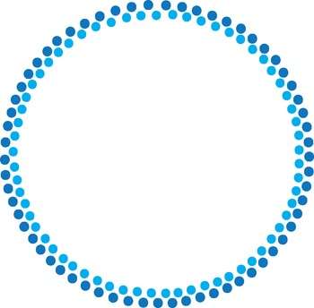 Circle Dot Borders Freebie! {Commercial & Personal Use!}