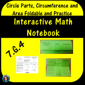 Circle Foldable: Area, Circumference and Parts of a Circle