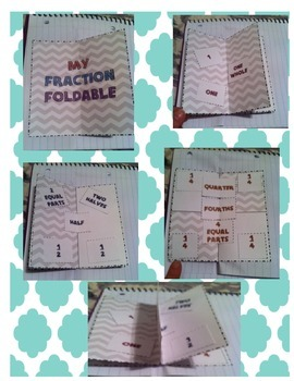 Circle Fraction Foldable