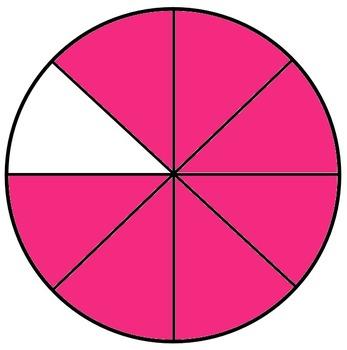 Circle Fraction Pieces (Clip Art)