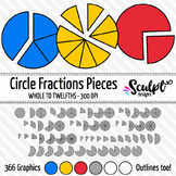 Circle Fractions in Pieces