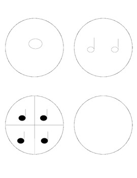 Circle Fractions with Notes