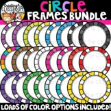 Circle Frames Clipart {Sellers Clipart}