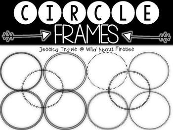 Circle Frames FREEBIE