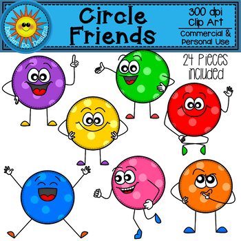 Circle Friends Clip Art