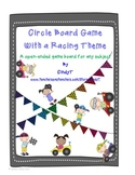 Circle Game Board 2nd Grade --Game Board and questions cards
