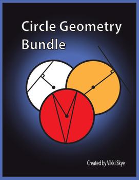 Circle Geometry Bundle (Properties, Angles, Lines)