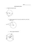Circle Geometry Test 10F