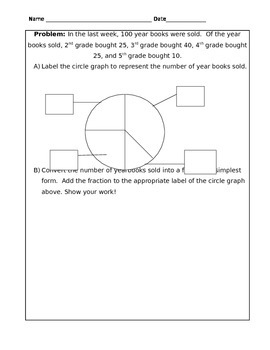 Circle Graph - Fraction Conversion