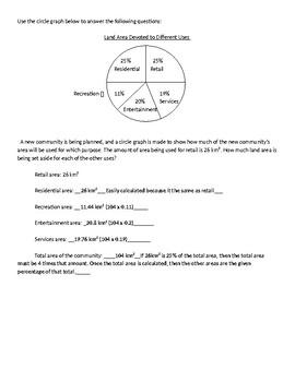 Circle Graph Quiz