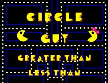Circle Guy - Greater Than and Less Than