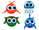 Big Eye Buddies Sea Creatures Clip Art and Activities