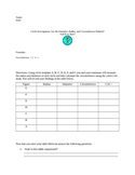 Circle Investigation - radius, diameter, and circumference