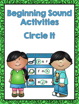 Circle It - Beginning Sound Activities