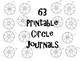 Circle Journals For The YEAR (The Bundle)