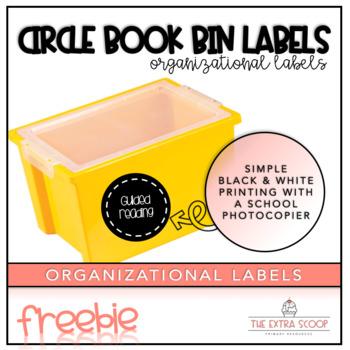 Circle Label Freebie