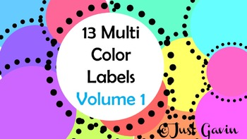 Labels Volume 1