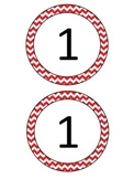Circle Labels - Numbers 1-10