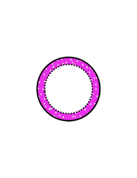 Circle Labels for Personal and Commercial Use
