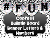 Circle Letters and Numbers - Bulletin Board Letters