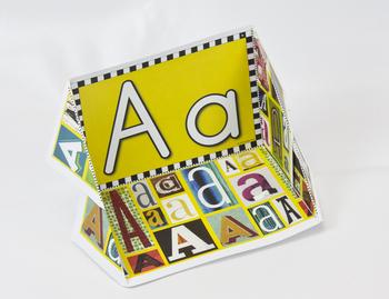 Circle-Line Alphabet Display Case: A