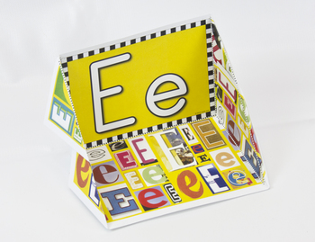 Circle-Line Alphabet Display Case: E