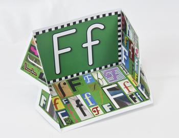 Circle-Line Alphabet Display Case: F
