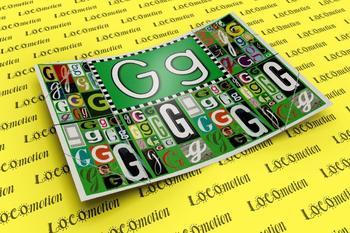 Circle-Line Alphabet Display Case: G