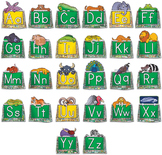 Circle-Line Alphabet Display Case Packet with Animal Toppers